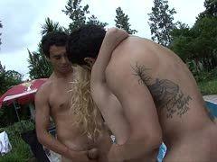 blondine beim sex