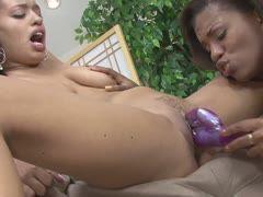 Black Anal threesome Pornos