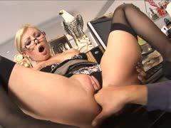 geile sekretärin porno