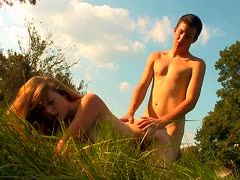 Sinnlicher Outdoorsex